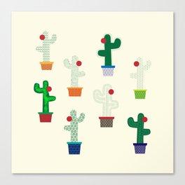 The Cactus! Canvas Print