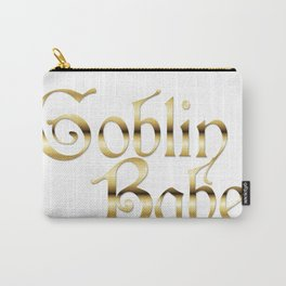 Labyrinth Goblin Babe (white bg) Carry-All Pouch