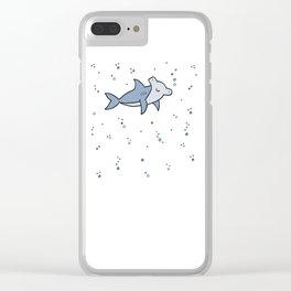 Little Hammerhead shark Clear iPhone Case