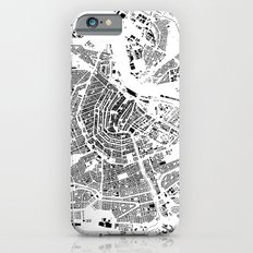 Amsterdam Map Schwarzplan Only Buildings Slim Case iPhone 6s