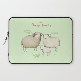 The Sheep Family Laptop Sleeve