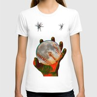 baseball T-shirts featuring Baseball Moon by Mel Moongazer