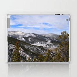 Mountain view from Squaw Pass Road Laptop & iPad Skin