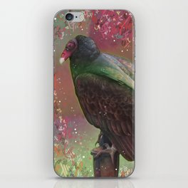 Tantalizing Turkey Vulture iPhone Skin