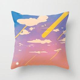 Full of Sky Throw Pillow