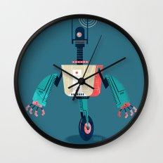 :::Mini Robot-Dynamo::: Wall Clock