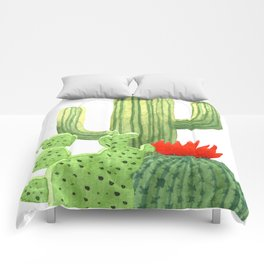 Perfect Cactus Bunch Comforters