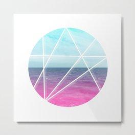 Sea Prism Metal Print
