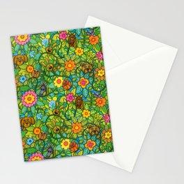 Pattern pony & friends Stationery Cards