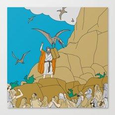 Jesus, Etc. III Canvas Print