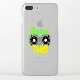 Scratch This Clear iPhone Case