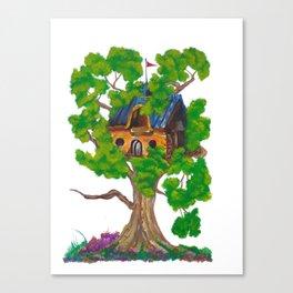 Treehouse III Canvas Print