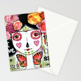 I Love You More Than My Own Skin Stationery Cards