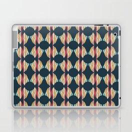 Oval and Diamond Sillouette Pattern Laptop & iPad Skin