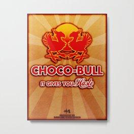 Final Fantasy VII - Choco-Bull Energy Drink Metal Print