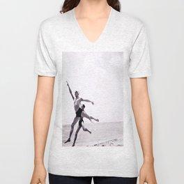 Ballet Monte-Carlo Beach Unisex V-Neck