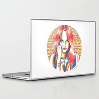 britney Laptop & iPad Skins featuring Britney Spears' Britney Jean Album by Eduardo Sanches Morelli