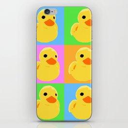 Fuzzy Duck Quad iPhone Skin