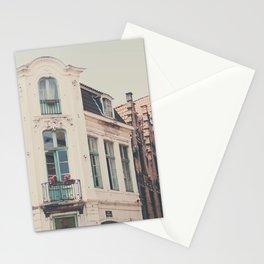 Bruges apartment building print  Stationery Cards