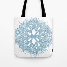 blue plant Tote Bag