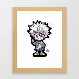 Hunter x Hunter - Killua Framed Art Print