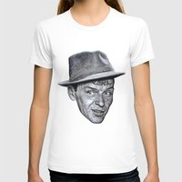 frank sinatra T-shirts featuring FRANK SINATRA by Jahwan by JAHWAN