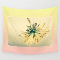 weed Wall Tapestries featuring Weed by Dora Birgis