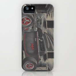 Hot Rod Batmobile  iPhone Case