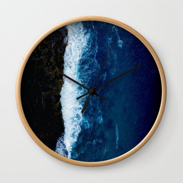 Sea 8 Wall Clock