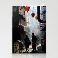 kobe Stationery Cards featuring An Afternoon in Kobe, Japan by Jason Halayko
