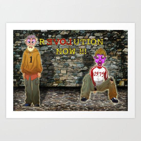 rEVOLution now Art Print