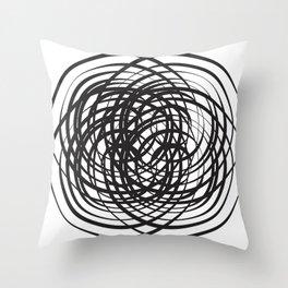 Fuster Cluck Throw Pillow
