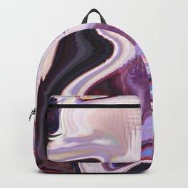 pixel glitch marble Backpack