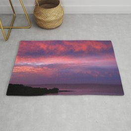 Sunset Across the Bay Rug