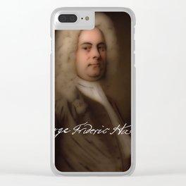 George Frideric (or Frederick) Handel (born Georg Friedrich Händel) by Balthasar Denner (c.1726–172 Clear iPhone Case