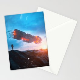 Weight Of Thought - Summer Poster Stationery Cards
