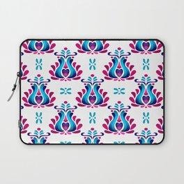 Folk Tulip Wallpaper No.01 Laptop Sleeve