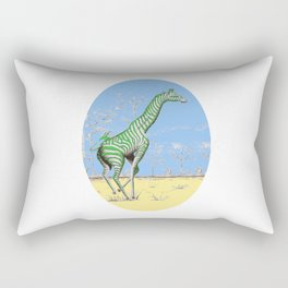 Girafe printemps Rectangular Pillow