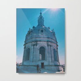 Dome of Portugal Metal Print