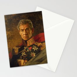 Sir Ian McKellen - replaceface Stationery Cards