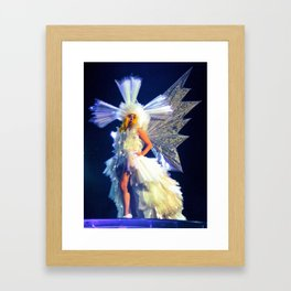 Living Dress Framed Art Print
