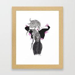 Thirsty Heart Framed Art Print