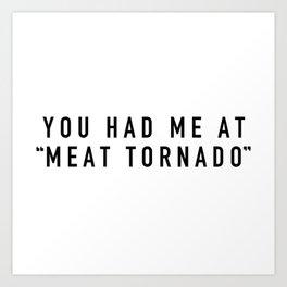 Meat Tornado - Parks and Rec Art Print
