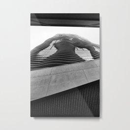 Aqua Tower #2 Metal Print