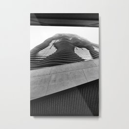Aqua Tower #2 Metal Print