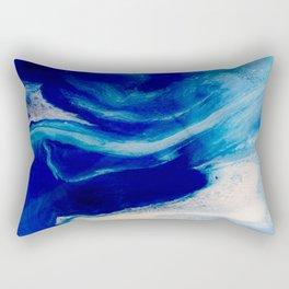 Blue Inlet Rectangular Pillow
