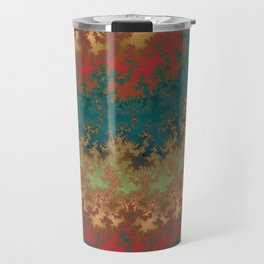 Fractal Layers Travel Mug