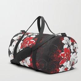 Rouge et Noir Duffle Bag