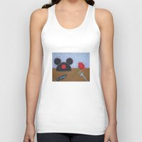 movies Tank Tops featuring Disney Movies by Sierra Christy Art