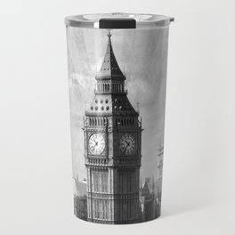 Vintage Big Ben Travel Mug
